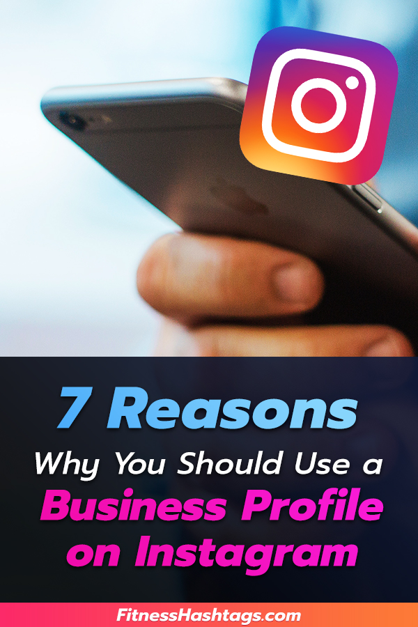 Business Profile on Instagram - Pinterest Pin