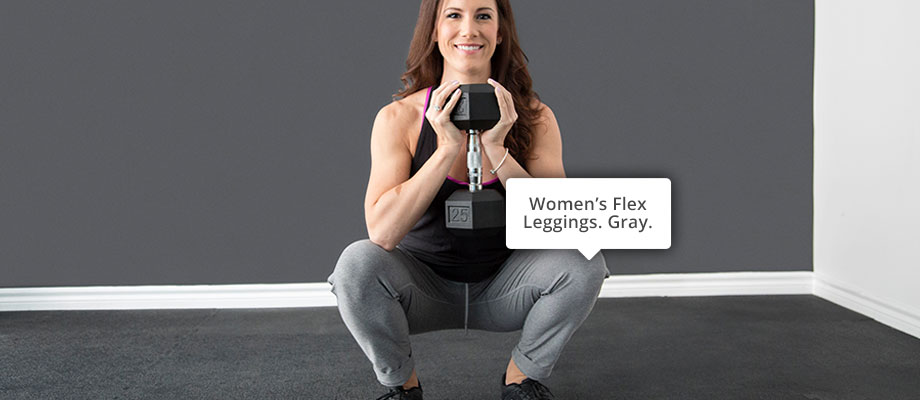 A woman performing exercises with a 25 pound weight.
