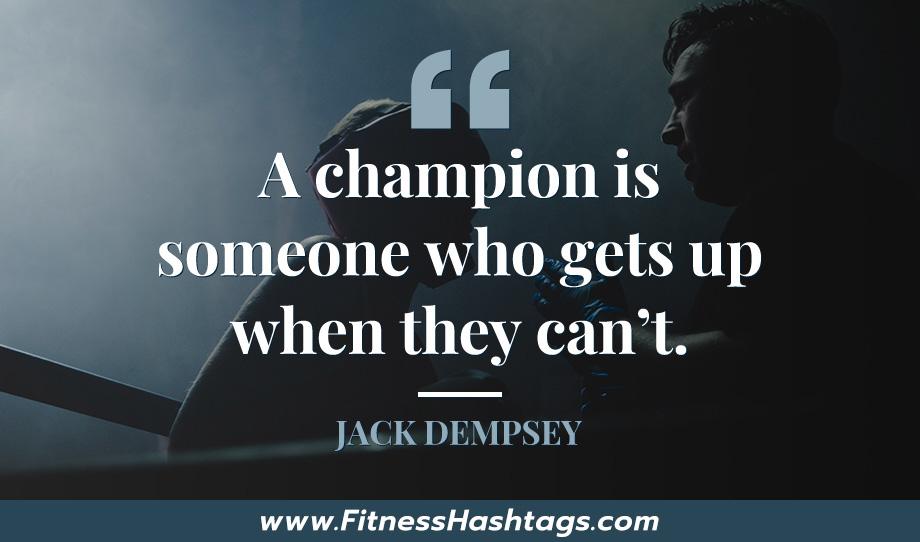 Jack Dempsey Quote